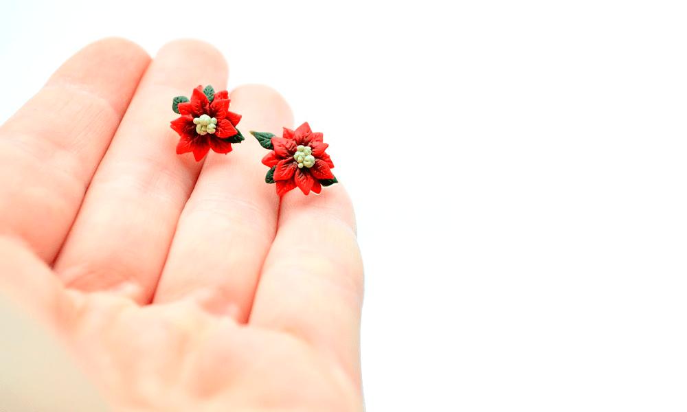 Poinsettia cercei surub