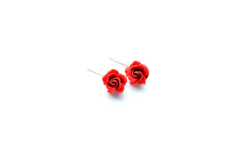 Trandafirii Rosii - Cercei atarnatori
